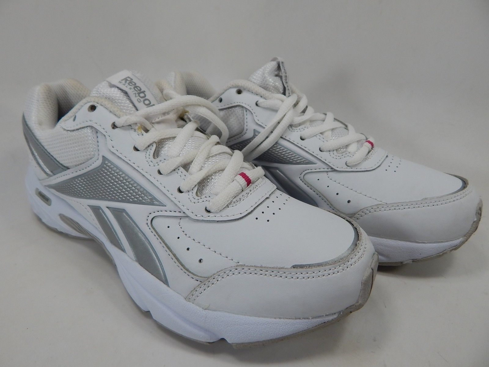 Reebok Daily Cushion 3.0 RS Size US 7.5 M (B) EU 38 Women's Running Shoes White
