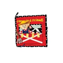 Manhattan Toy Farmyard Friends Soft Activity Book - $19.95