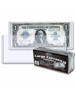 10 packs (250) BCW Large Bill Currency Topload Holders - $1.598,61 MXN