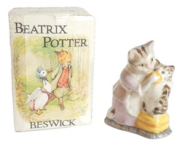 Tabitha Twitchit Miss Moppet Beatrix Potter Bes... - $39.00