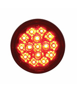 """15 LED 2 3/8"""" Dual Function Harley Signal Light - Red LED/Red Lens - $21.77"""
