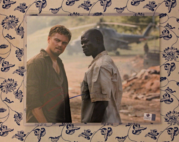Primary image for Leonardo Dicaprio Signed Autographed Photo Blood Diamond Movie COA Certified
