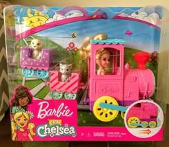 Barbie Club Chelsea Doll and Choo-Choo Train Set Officially Licensed NIB/Sealed - $21.99