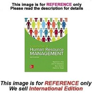 Fundamentals of Human Resource Management, 8th (International Edition) - $49.90