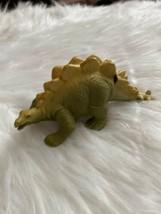 Vtg Definitely Dinosaur 1987 Stegosaurus Playskool green toy - $8.90