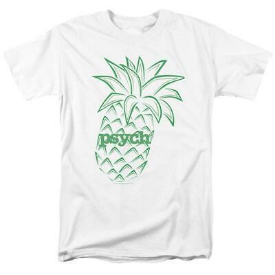 Psych Pineapple Symbol t-shirt humor Shawn Spencer graphic tee NBC588