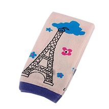 Set of 2 Unique Effel Tower Baby Boy Leg Wamers Cotton Toddler Leg Guards,0-2Yrs