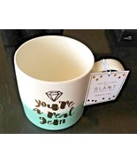"Slant Collections 20 oz. Mug  With Handle ""You're A Real Gem"" NWT - $9.50"