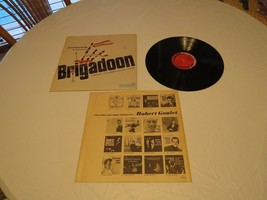 Brigadoon Armstrong lerner Loewe's TV sound track LP Album RARE Record v... - £12.75 GBP