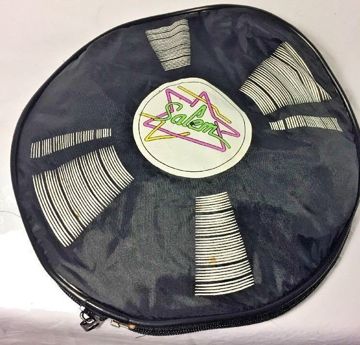 Primary image for Vintage 90s SALEM Cigarette Fresh Duffle Bag With LP Records On The Ends