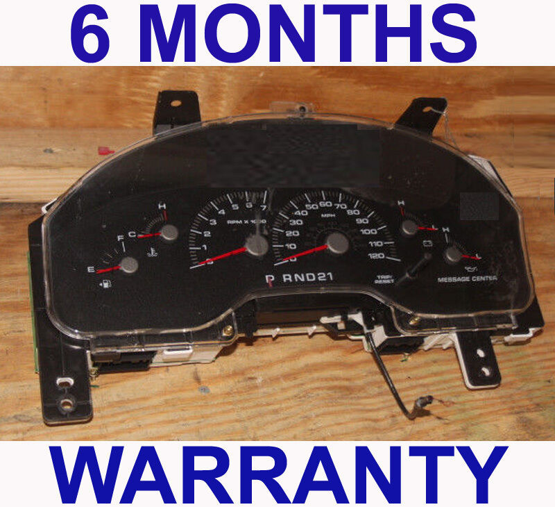 Primary image for 2002-2003 Ford Expedition Instrument Cluster w/ Message Center - 6 Month WARR