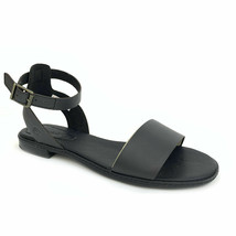Timberland Women's Cherrybrook Black Leather Sandals A1OZ3 - $58.99