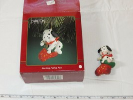 Carlton Cards Heirloom Collection Christmas Stocking Full of Fun Puppy - $29.69