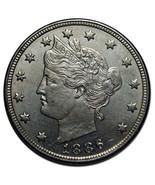 1886 V Nickel Liberty Head 5¢ Coin Lot# MZ 2631 - £648.72 GBP