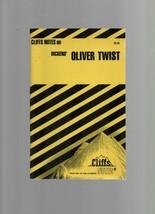 Cliffs Notes on Dickens' Oliver Twist - SC - 1965 - Harry Kaste - C.K. H... - $6.85
