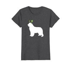 Newfoundland St Patricks Day Dog Silhouette T-Shirt - $19.99+