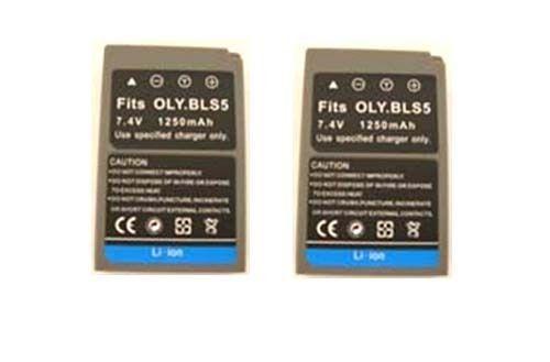 TWO 2X BLS-5 SBLS-5 Batteries for Olympus E-PL2, E-P3, E-PL3, E-PM1 PEN Digital - $26.95