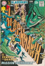 Blackhawk #243 VG+ 1968 DC Comics Mission Incredible War Comic Book - $5.73