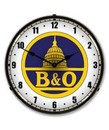 B&O Railroad 1 Lighted Clock - $129.95