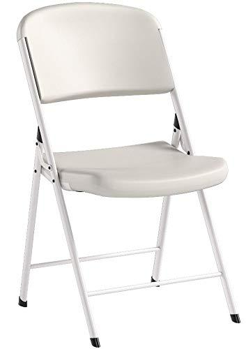 Lifetime 80359 Classic Commercial Folding Chair, White ...