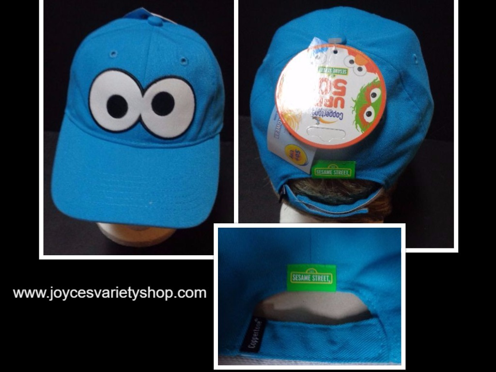 Cookie monster hat collage 2017 10 20