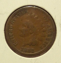 1882 Indian Head Penny G4 #0248 - $3.49