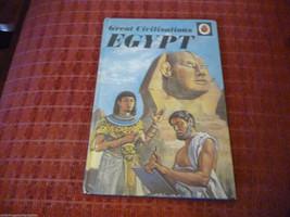 Vintage 1973 Lady Bird Book Great Civilisations Egypt series 561 - $7.77