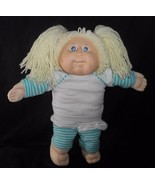 Vintage 1982 Chou Patch Enfants Poupée Fille Long Blond Cheveux Avec / 2... - $41.38