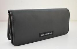 Dolce & Gabbana Leather Sunglasses Eyeglasses Soft Case Magnetic Black - $24.95