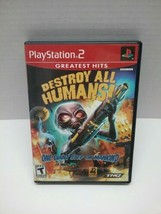 Destroy All Humans (Playstation 2, 2005) PS2 Complete with manual  - $9.99