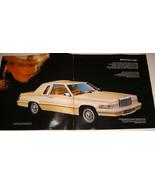 Large 1980 FORD THUNDERBIRD Sales Brochure - $10.00