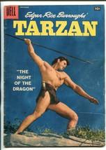 Tarzan #98-1957-DELL-GORDON Scott COVER- BURROUGHS- MARSH- MANNING-vg - $42.87
