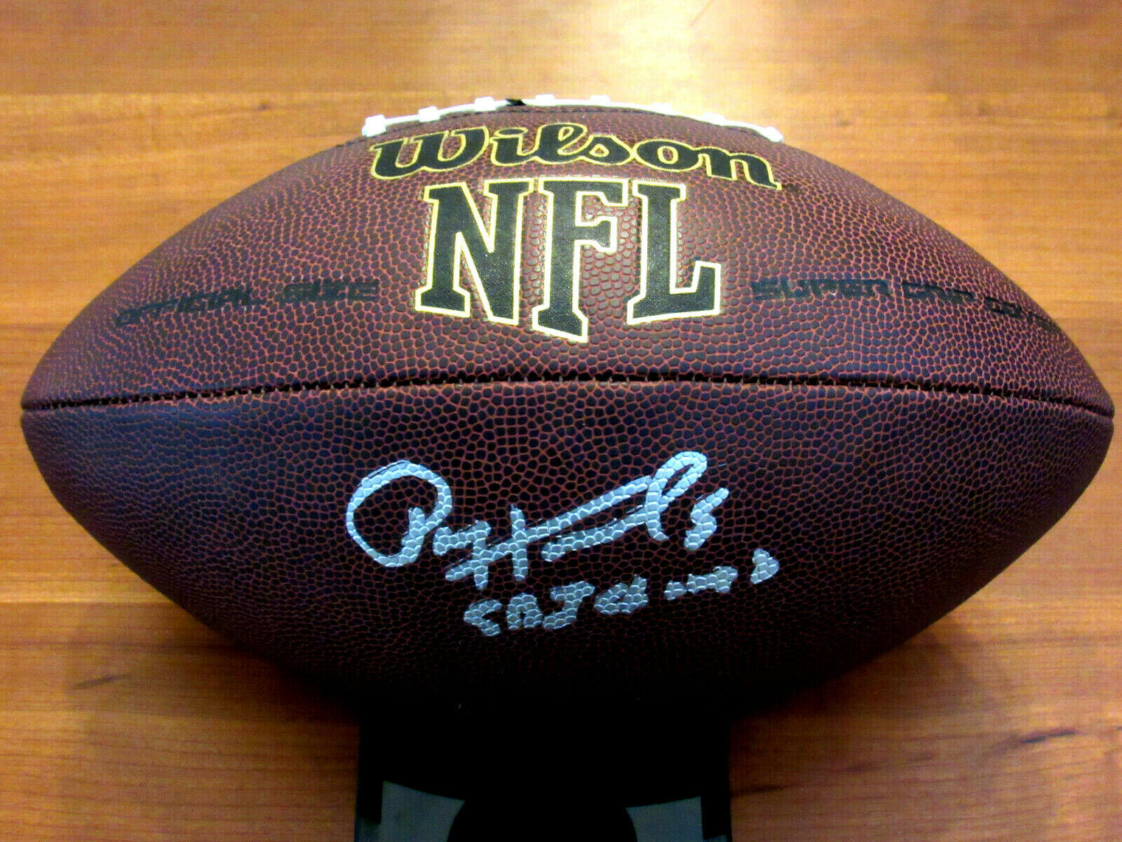 Primary image for PAUL HORNUNG SUPER BOWL 1 CHAMPS HOF PACKERS HEISMAN SIGNED AUTO WILSON BALL JSA
