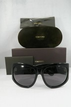 Tom Ford Women's Black Sunglasses and box Felicity 404 01A 61mm - $218.99