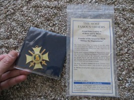 The Order of Philipp the Magnanimous Commander's Cross with swords no.0499 - $46.55