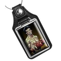 Sylvester Stalone as Rocky Balboa 1980's Movie Design Faux Leather Key R... - €10,72 EUR
