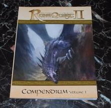 Rune Quest II Compendium Volume 1 - $49.99