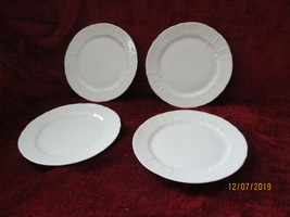 """Heinrich Chateau Weiss set of 4 bread plates 6 3/8"""" - $15.79"""