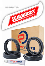 Fork Oil Seals Dust Seals & Tool for Harley FLSTF 1690 Softail Fat Boy ABS 13-15 - $30.09