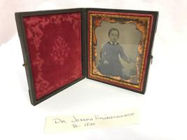 Antico Ambrotype Ritratto in caso, Dr.Joseph Hollingworth - $45.01