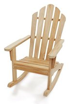 Windsor's Premium Grade A Teak  Adirondack Rocking Chair - $695.00