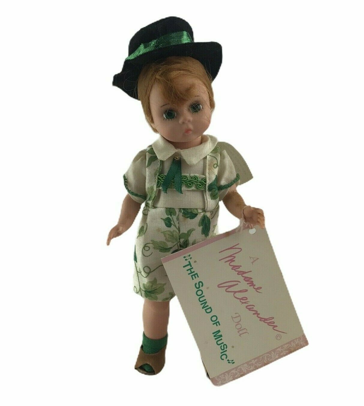 "Vintage Madame Alexander Sound Of Music 8"" Friedrich Boy Doll Green Outfit Tag - $32.62"