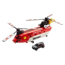 Mattel Matchbox Power Launcher Chinook Helicopter  - $19.79