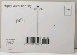 "Hallmark Valentine Bowers Animal with Huge Heart 6"" Postcard E10 - $6.95"