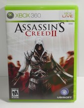 Assassin's Creed II (Microsoft Xbox 360, 2009) COMPLETE - $9.49