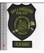 K-9 Police Massachusetts Bellingham Police Department Canine Unit Office... - $10.99