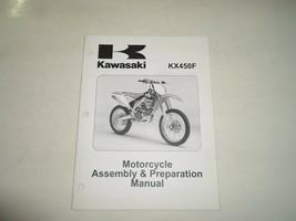 2006 Kawasaki KX450F Motorcycle Assembly Preparation Manual FACTORY FEO BOOK x - $44.49