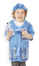 Melissa & Doug Veterinarian Role Play Costume Dress-Up Set (9 pcs) - $29.69