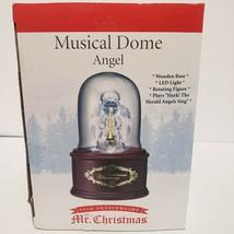 Angel Music Box, Hanging Dome, Lighted, Wind-Up, 69421, NIB - $22.77