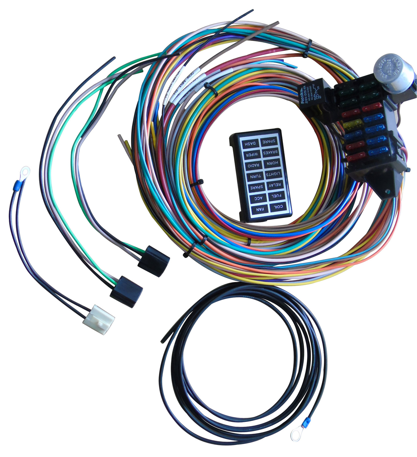 a team performance 14 circuit basic wire kit small wiring harness gm performance wiring harness at Performance Wiring Harness
